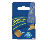 Sellotape Golden Tape 18mm x 25 Metres 1443169 - Adhesive Tape