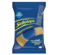 Sellotape Golden Tape 24mm x 33 Metres 1443254 - Adhesive Tape