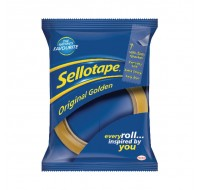 Sellotape Golden Tape 24mm x 66 Metres 1443268 - Adhesive Tape