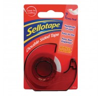 Sellotape Double-Sided Tape And Dispenser 15mm x 5 Metres - Double Sided Tape
