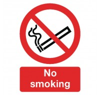 No Smoking A4 Self-Adhesive Safety Sign ML02079S - No Smoking Signs