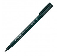Staedtler Lumocolor Black Superfine Tip Permanent Pen 313-9 - OHP Pens