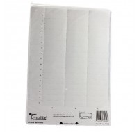 Twinlock Crystal White Inserts 78050 - Filing Accessories