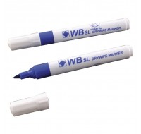 Whiteboard Blue Chisel Tip Markers WX26036 - Drywipe Markers