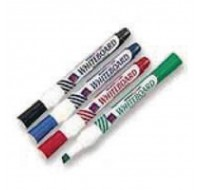 Whiteboard Assorted Chisel Tip Markers WX26038 - Drywipe Markers