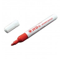 Whiteboard Red Bullet Tip Marker WX98003 - Drywipe Markers