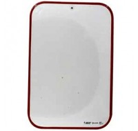 Bic Velleda Red 230 Frame Dry Wipe Board 300 x 440mm 812105