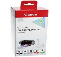 Canon CLI-8 Inkjet Cartridge Multi-Pack 0620B027