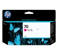 Hewlett Packard NO70 Magenta Inkjet Cartridge 130ml C9453A