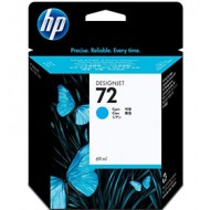 Hewlett Packard NO72 Cyan Inkjet Cartridge C9398A