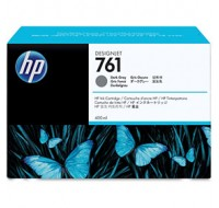 Hewlett Packard NO761 Dark Grey Inkjet Cartridge 400ml CM996A
