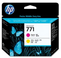 Hewlett Packard NO771 Magenta/Yellow Print Head CE018A