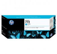 Hewlett Packard NO772 Cyan Inkjet Cartridge 300ml CN636A