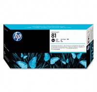 Hewlett Packard NO81 Black Dye Print Head And Cleaner C4950A