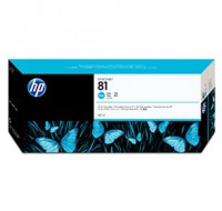 Hewlett Packard NO81 Cyan DYE Inkjet Cartridge C4931A