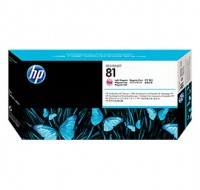 Hewlett Packard NO81 Magenta Dye Print Head And Cleaner C4955A