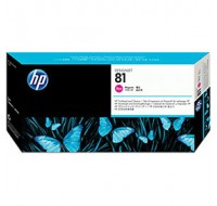 Hewlett Packard NO81 Magento Dye Print Head And Cleaner C4952A