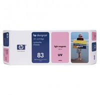 Hewlett Packard NO83 Light Magenta UV Inkjet Cartridge C4945A