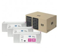 Hewlett Packard NO83 Magenta UV 3 Ink Multi-Pack Inkjet Cartridge C5074A