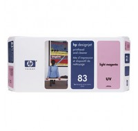 Hewlett Packard NO83 Magenta UV Print Head And Cleaner C4965A