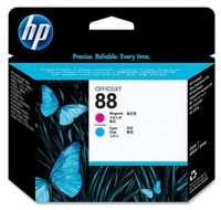 Hewlett Packard NO88 Magenta/Cyan Print Head C9382A