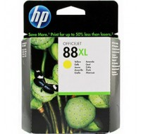 Hewlett Packard NO88XL High Yield Yellow Inkjet Cartridge C9393AE