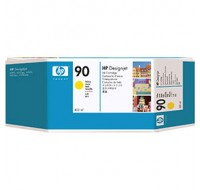 Hewlett Packard NO90 Yellow Inkjet Cartridge 400ml C5065A