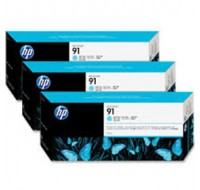 Hewlett Packard NO91 Light Cyan Inkjet Cartridge C9486A