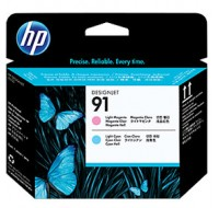 Hewlett Packard NO91 Light Magenta/Light Cyan Print Head C9462A
