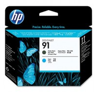 Hewlett Packard NO91 Matte Black/Cyan Print Head C9460A