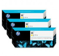 Hewlett Packard NO91 Yellow Inkjet Cartridge C9485A