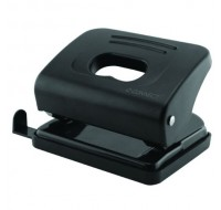 Q-Connect Black Medium Duty Hole Punch KF01234