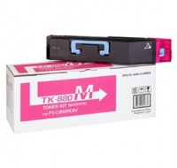 Kyocera FS-C8500DN Toner Cartridge 18K Magenta TK-880M - Printer Toner