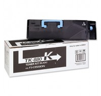 Kyocera FS-C8500DN Toner Cartridge 25K Black TK-880K - Printer Toner