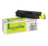 Kyocera Toner Cartridge Yellow TK-580Y - Printer Toner
