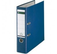 Leitz Blue Paper-Backed Foolscap Leaver Arch Files - Foolscap Lever Arch Files