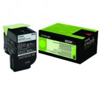 Lexmark Black Return Toner Cartridge 80C20K0 - Printer Toner