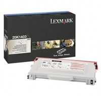 Lexmark C510 High Yield Toner Cartridge Black 20K1403 - Printer Toner
