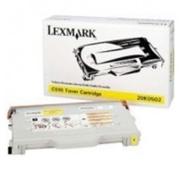 Lexmark C510 Standard Yield Toner Cartridge Yellow 20K0502 - Printer Toner