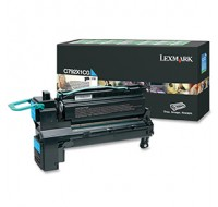 Lexmark C792 Extra High Yield Return Programme Cartridge Cyan C792X1CG - Printer Toner