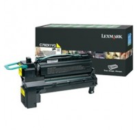 Lexmark C792 Extra High Yield Return Programme Cartridge Yellow C792X1YG - Printer Toner