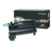 Lexmark C792/X792 Return Programme Cartridge Black C792A1KG - Printer Toner