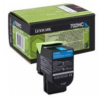 Lexmark Cyan Return Programme Toner Cartridge High Yield 70C2Hc0 - Printer Toner