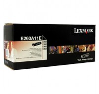 Lexmark E260 E360 E460 Return Programme Toner Black 0E260A11E - Printer Toner