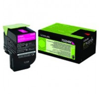 Lexmark Magenta Toner Cartridge high yield 70c2hm0 - Printer Toner