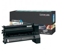 Lexmark Return Programme High Yield Toner Cartridge Cyan C780H1CG - Printer Toner