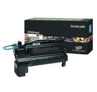 Lexmark X792 Extra High Yield Return Programme Cartridge Black X792X1KG - Printer Toner