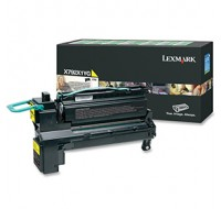 Lexmark X792 Extra High Yield Return Programme Cartridge Yellow X792X1YG - Printer Toner