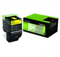 Lexmark Yellow Return Programe Cartridge 70C20Y0 - Printer Toner