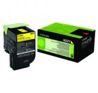 Lexmark Yellow Toner Cartridge 80C20Y0 - Printer Toner
